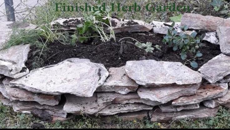 herb garden completion